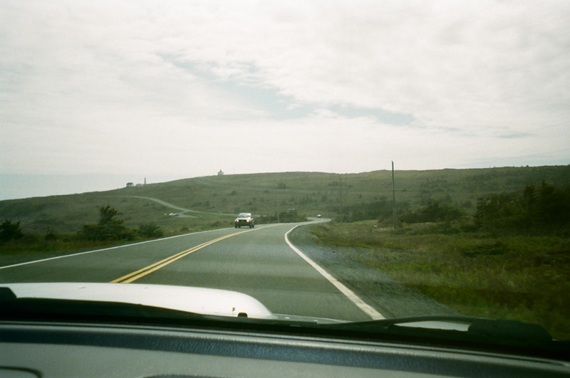 Morning drive to Cape Spear.
