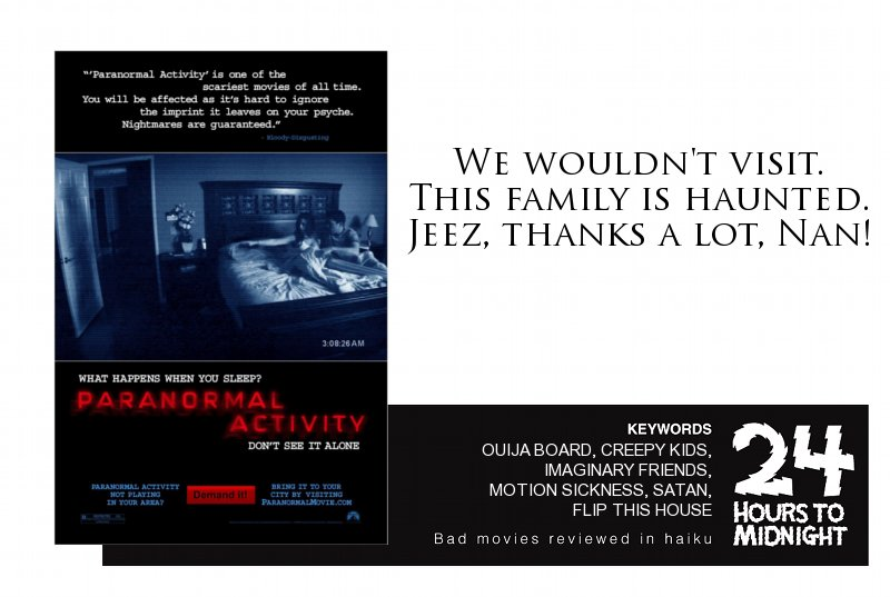 The Paranormal Activity Trilogy review for thescope.ca by 24 Hours to Midnight: The Blog!