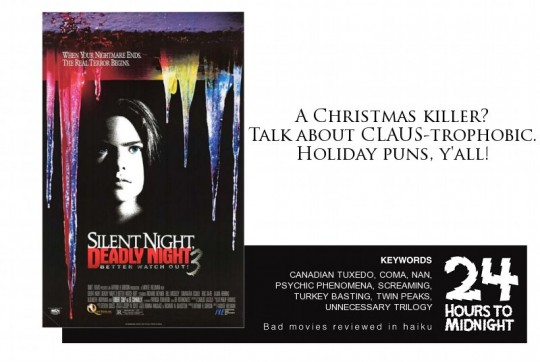 Silent Night Deadly Night 3 review for thescope.ca by 24 Hours to Midnight: The Blog!