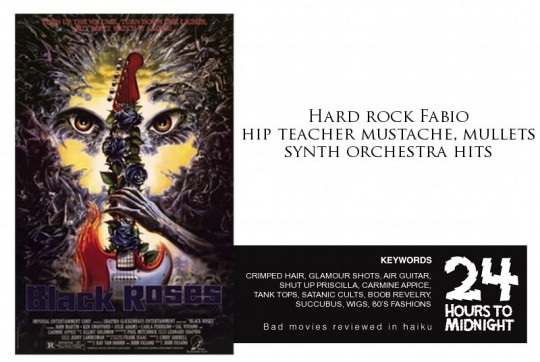 Black Roses 1988 review for thescope.ca by 24 Hours to Midnight: The Blog!