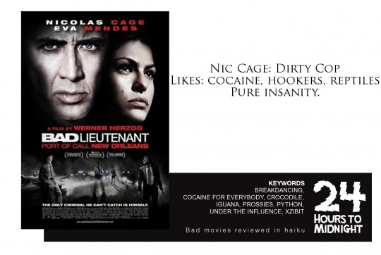Bad Lieutenant Port of Call New Orleans review for thescope.ca by 24 Hours to Midnight: The Blog!
