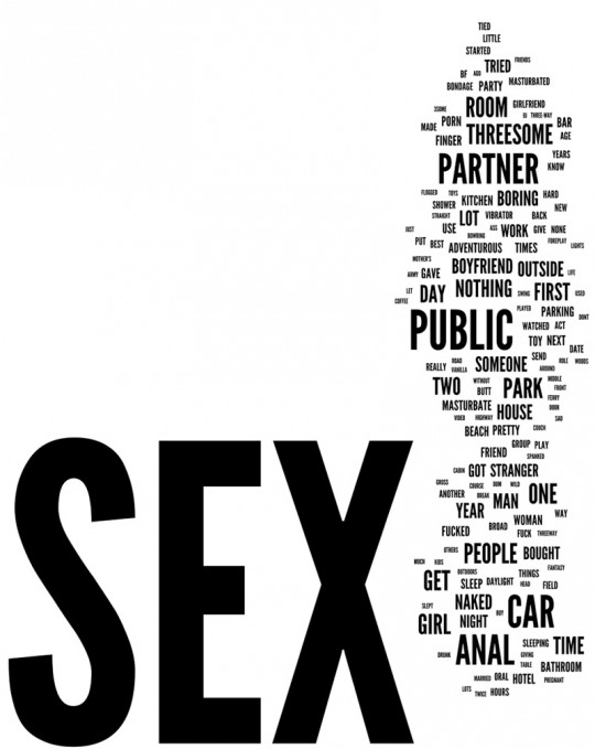 2012 Sex Survey: The most adventurous sexual thing I did this year was…