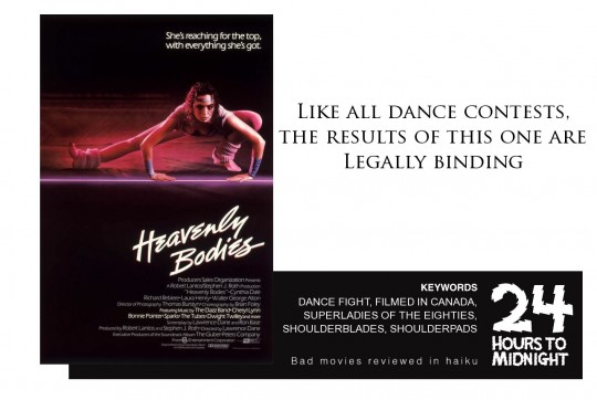 Heavenly Bodies (1984) review for thescope.ca by 24 Hours to Midnight: The Blog!