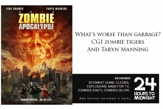 Zombie Apocalypse review for thescope.ca by 24hourstomidnight.com