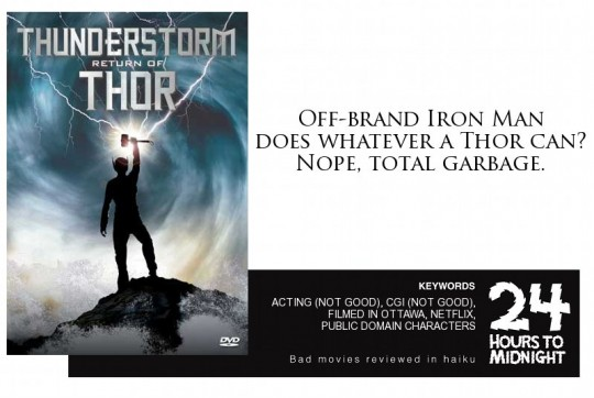 Thunderstorm: The Return of Thor (2011) review for thescope.ca by 24 Hours to Midnight: The Blog!
