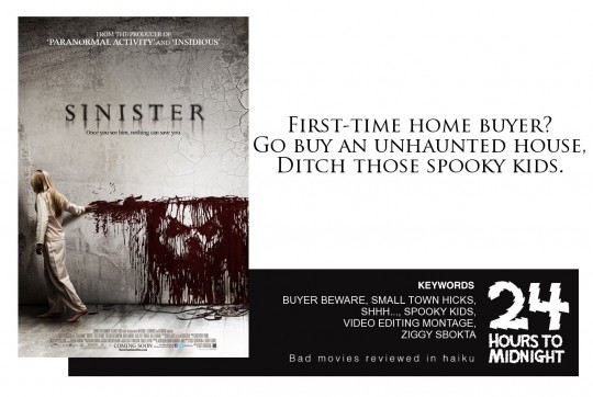 Sinister (2012) review for thescope.ca by 24 Hours to Midnight: The Blog!