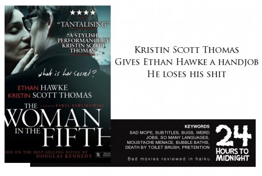 Woman in the Fifth review for thescope.ca by 24 Hours to Midnight: The Blog!
