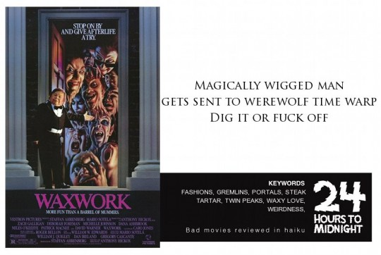 Waxwork review for thescope.ca