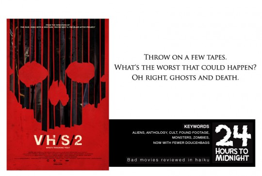 V/H/S/ 2: Throw on a few tapes. What's the worst that could happen? Oh right, ghosts and death.