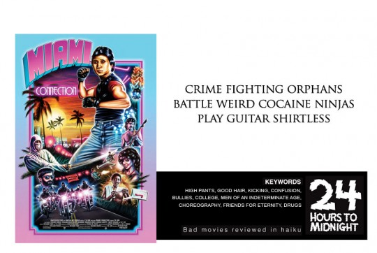 crime fighting orphans / battle weird cocaine ninjas / play guitar shirtless
